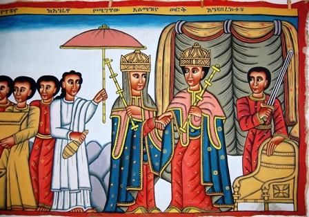 La Regina di Saba e Re salomone