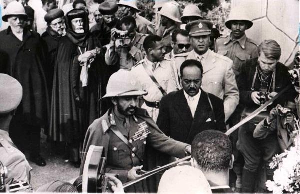 H.I.M. visit eritrea
