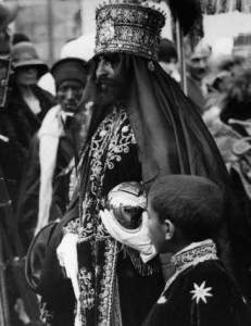 Incoronazione di S.M.I. Haile Selassie I